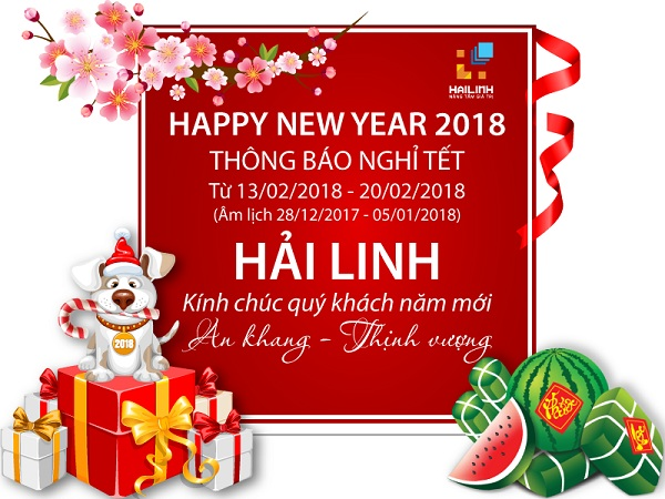 lich nghi tet 2018